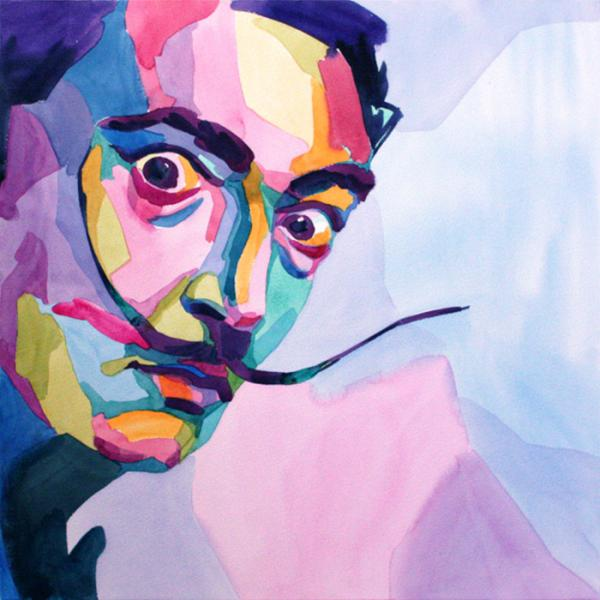 Salvador Dali by en-masse